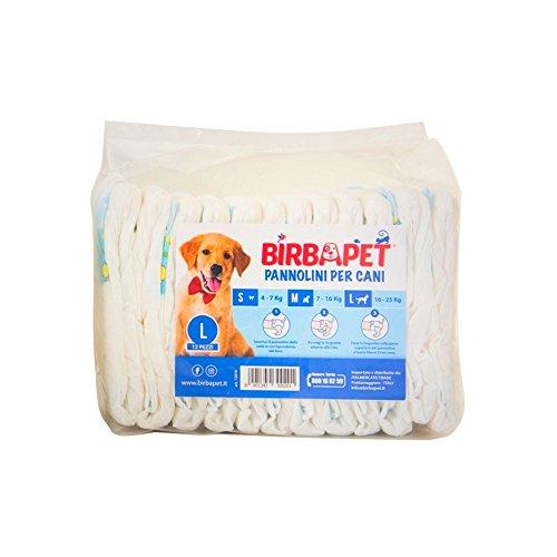 birbapet pañales Super Compresas para perros-Super Compresas con...