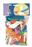 1000 (10x 100) Luftballons verschiedene Farben & Modelle