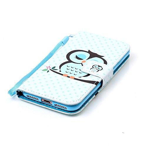 XFAY HX439【Eine Vielzahl von Mustern 】iPhone 7plus Handyhülle Case für iPhone 7plus Hülle im Bookstyle, PU Leder Flip Wallet Case Cover Schutzhülle für Apple iPhone 7plus(5.5 Zoll) Schale Handyhülle C Farbe-28