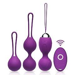 Idea Regalo - Acvioo Palline Vagine Kegel Silicone Balls Rinforzamento dei Muscoli Vaginali Esercizi del Pavimento Pelvico Kit Bladder Control e Incontinenza Dispositivo per la Femmina