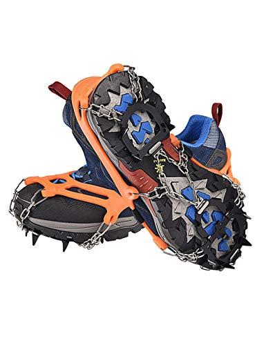 besbomig Outdoor Kletterausrüstung Fallsicherung - Karabiner Kletter Abseilgerät Steigeisen ATC Sicherungsgerät Kreidebeutel für Camping Wandern
