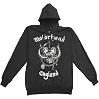 Global Motorhead England Zip Hoodie Adult Zip Hoodie In Nero Black