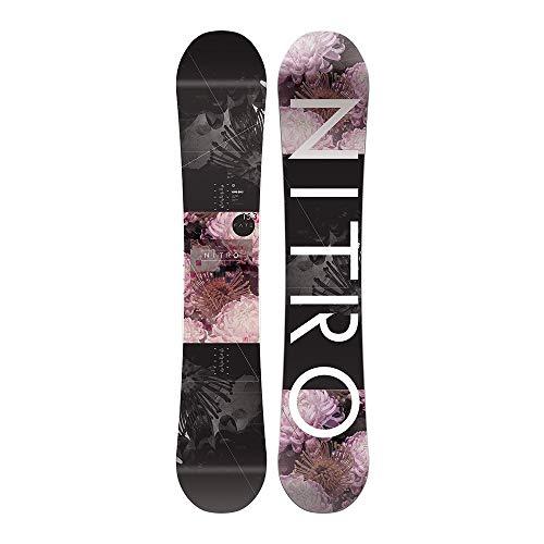 Nitro tavola snowboard donna fate nero 147
