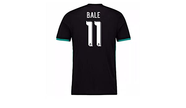2017-18 Real Madrid Away Football Soccer T-Shirt - Kids (Gareth Bale 11)   Amazon.co.uk  Sports   Outdoors dbd7d9b6d