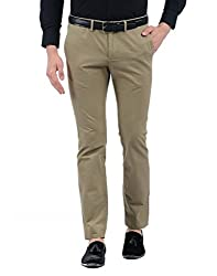 Indian Terrain Mens Casual Trousers (8907468952679_S17-LESLIE-Beige-38)