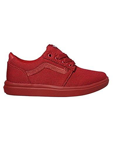 Vans , Baskets pour femme Rouge