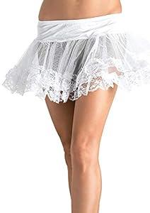 Leg Avenue- Mujer, Color blanco, Talla Única (EUR 36-40) (8999WHI)