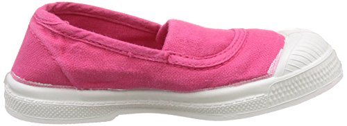 Bensimon Tennis Elastique, Baskets Basses Mixte Enfant Rose (Rose)