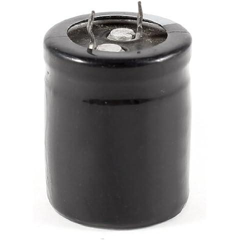 Sourcingmap  - 50v 4700uf 105c condensador electrolítico de aluminio 25x31mm negro