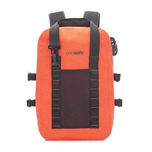 PacSafe Pacsafe Dry 25L Anti-Theft Backpack Rucksack, 46 cm, 25 liters, Orange (Orange 302)