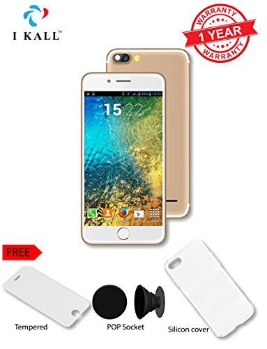 I KALL K2 4G VOLTE Android Phone With 5-inch Display And (Freebies) - Gold