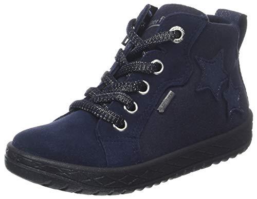 Superfit Mädchen Mercury Hohe Sneaker, Blau (Blau 80), 32 EU