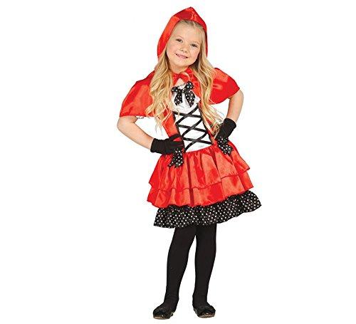 Imagen de disfraz caperucita roja para niña de 2 4 años