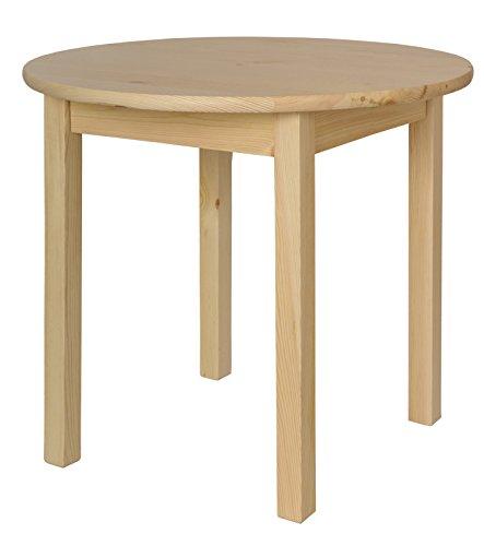 Küchentisch Esstisch Tisch Massiv Kiefer Holz rund