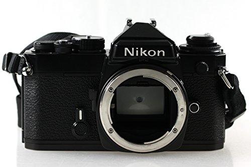 Nikon FE Body Gehäuse SLR Kamera Spiegelreflexkamera in schwarz mit OVP