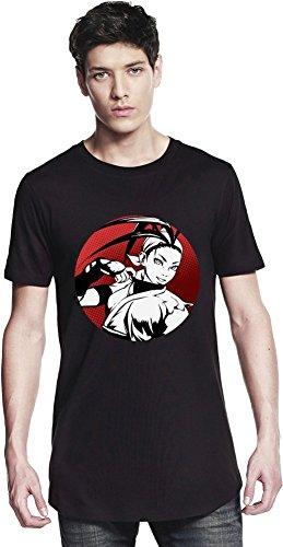 Ibuki Graphic Illustration Long T-shirt Small