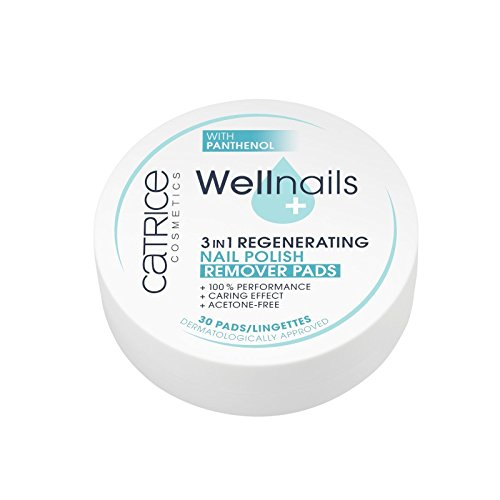 Catrice - Nagellackentferner Pads - Wellnails 3in1 Regenerating Nail Polish Remover Pads -