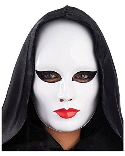 Pierrot Maske (Und Maske Schwarze Pierrot Weiße)