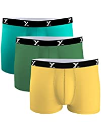 XYXX Men's Micro Modal Trunk(Pack of 3)