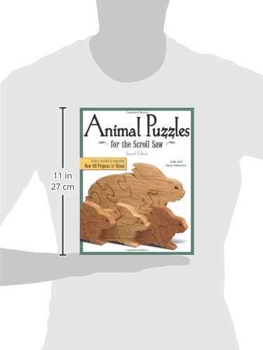 animal puzzles for the scroll saw scroll saw woodworking crafts book
