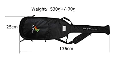 ZJ SPORT High Quality Black Bag For Dragon Boat Paddle from HANGZHOU ZIJIE SPORTS OARS CO., LTD