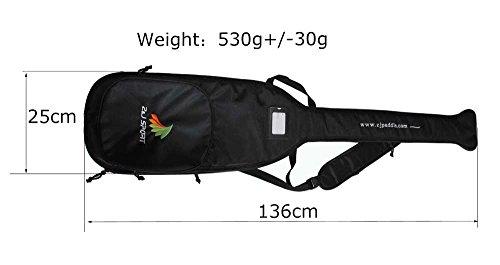 ZJ SPORT Schwarze Tasche Für Drachenboot Paddel Test