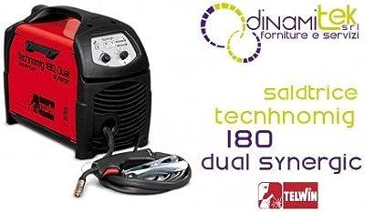 Soldadoras de hilo MIG-MAG/FLUX Telwin Technomig 180 Dual Synergic