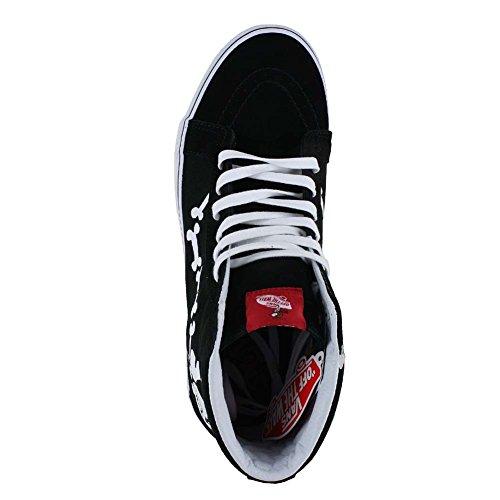 Vans Herren Sk8-Hi Hightop Sneaker (Peanuts) Snoopy Bones/Black