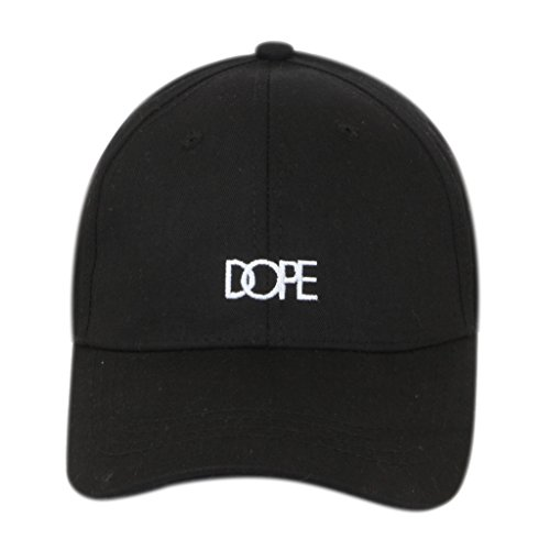 ILU Dope caps snapback caps hiphop caps baseball cap Black caps for man woman Boys Girls Men Women  available at amazon for Rs.480