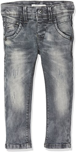 NAME IT Baby-Jungen Jeans Nittoke Skinny Dnm Pant M Nmt Noos, Grau (Dark Grey Denim), 98