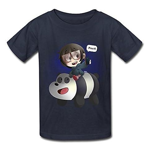 KST - T-Shirt - Garçon - Bleu -
