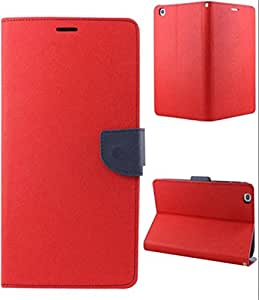Mercury Flip Cover for ONE PLUS ONE Red