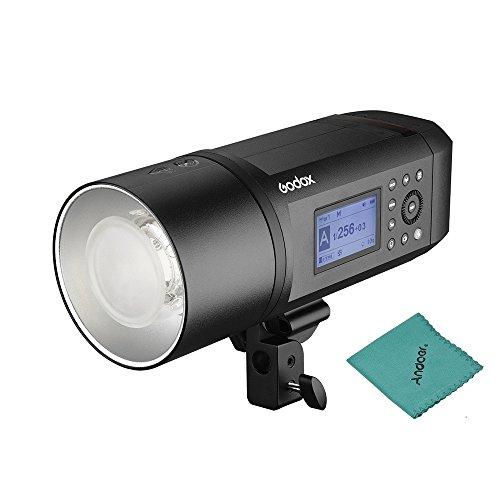Godox AD600Pro 600Ws 2.4G X TTL GN87 1 / 8000s High Speed SYNC Strobe Blitz Licht 28.8V / 2600mAh Lithium-Batterie, zum 360 volle Energie-Blitze zur Verfügung zu Stellen 0.01~0.9s bereiten Zeit auf -