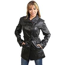 House Of Leather - Abrigo - Gabardina - para mujer