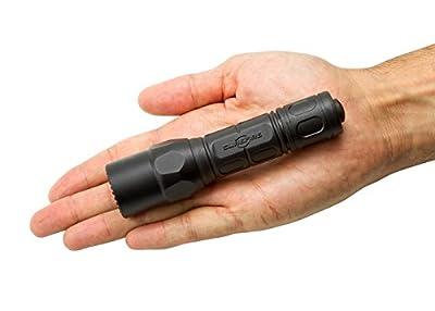 Surefire G2XLE-BK G2x Law Enforcement Zwei Leistungsstufen Led Taschenlampe, Schwarz, One Size