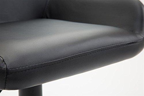Clp sgabello da bar braga in similpelle sedia cucina con