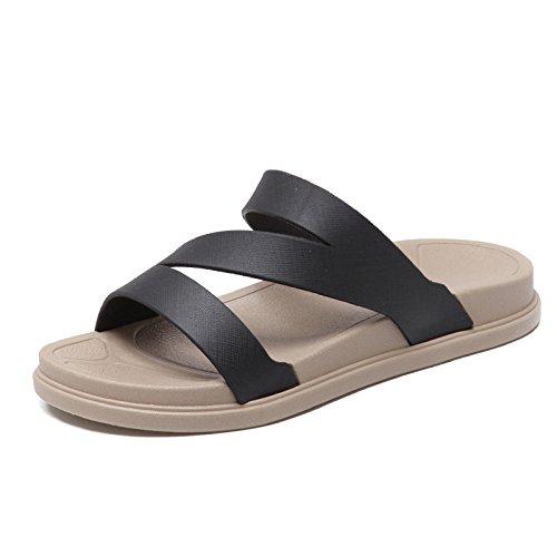 FLYRCX Estate donna cool pantofole antiscivolo da fondo spesso spiaggia spiaggia scarpe a