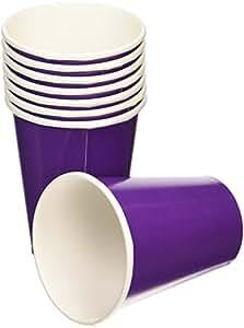 Amscan International 266ml Cups (Purple)