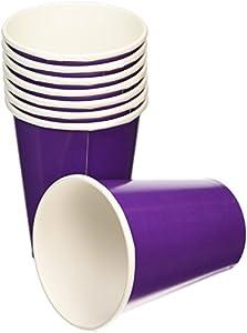 Amscan 266ml Copas Internacionales (púrpura)