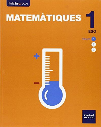 Matemáticas. Libro Del Alumno. Valencia. ESO 1 (Inicia Dual) - 9788467375435