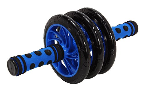 Dolphy Triple Wheel Roller Ab Exerciser
