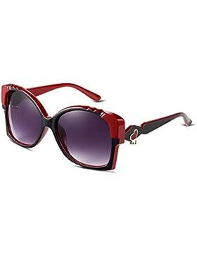 Ilove EU Mujer Gafas de sol ojo de gato vasos Wayfarer VERS piegelt Gafas con corazón de metal AM Bügel 4colores...