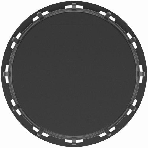 IBC Couvercle nw225 – Noir – en caoutchouc mousse