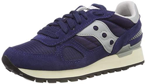 Saucony Unisex-Erwachsene Shadow Original Vintage Gymnastikschuhe, Blau (Navy/White 3), 44.5 EU - Saucony Schuhe Blau