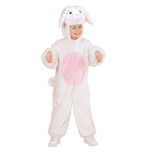 Widmann 98085 - Kinderkostüm Hase aus Plüsch, Overall mit Kapuze und ()