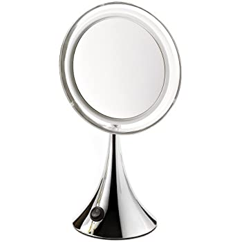 miroir lumineux LED effet loupe grossissant x7 Novex