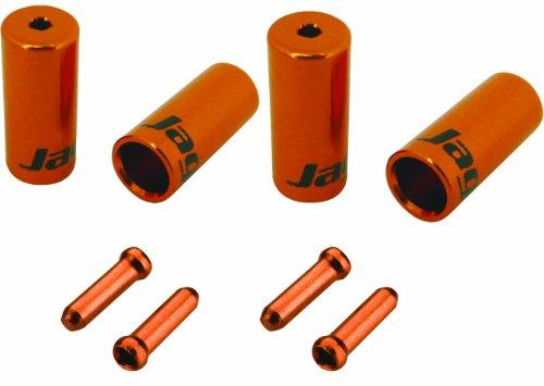Jagwire Endkappen-Set Universal Pro Orange orange -
