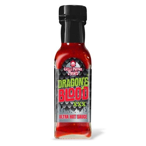 Chilli Pepper Pete's Drachenblut XXX Ultra-Hot Sauce - 125ml