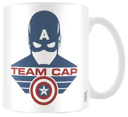 Captain America della guerra civile-Tazza in ceramica, multicolore