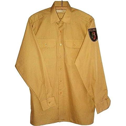 Polizei Hemd langarm NEU Polizeihemd Uniform Police Bambusgrün Gr. 41